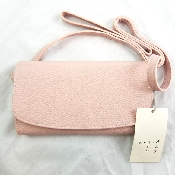 74dbca5122f4 A New Day Target Pink Wallet on a String Crossbody